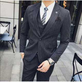 定番スリム大人気イベント細身メンズ花婿ビジネス紳士服セットアップ結婚式OT009