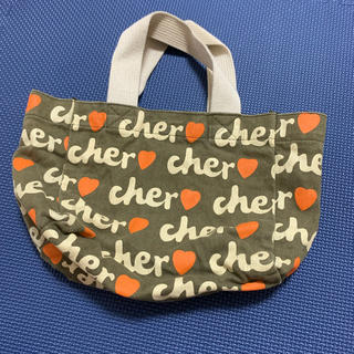 シェル(Cher)のcher トートバッグ ミニトート(トートバッグ)