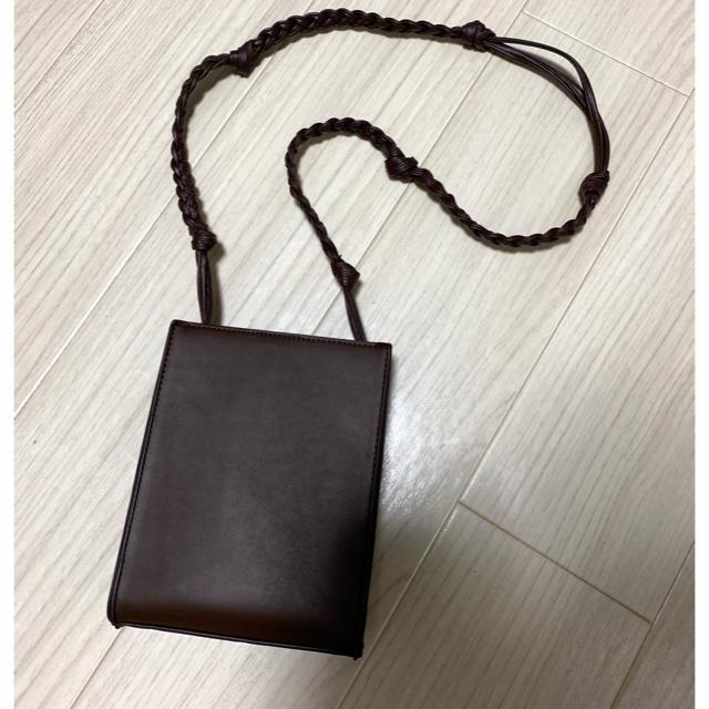 TODAYFUL(トゥデイフル)のスクエアレザーショルダー バッグ レディースのバッグ(ショルダーバッグ)の商品写真