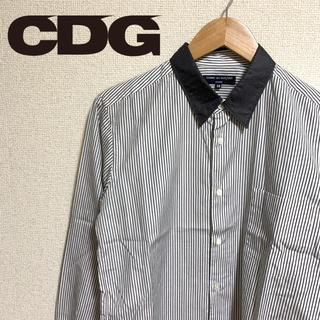 コムデギャルソン(COMME des GARCONS)のCOMME des GARÇONS HOMME 2010ss 襟切り替えシャツ(シャツ)