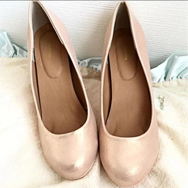 ゴージャスヒール♥︎ラウンドトゥパンプス♥︎ レディースの靴/シューズ(ハイヒール/パンプス)の商品写真