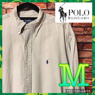POLO RALPH LAUREN - 《定番アイテム》Polo Ralph Lauren ボタンダウン ベージュ M