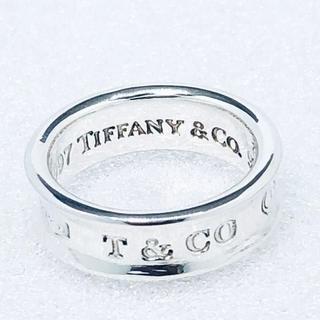 Tiffany & Co. - ☆新品☆未使用☆ティファニー 1837ロゴリング 9号