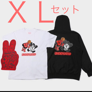 UNDEFEATED × verdy(パーカー)