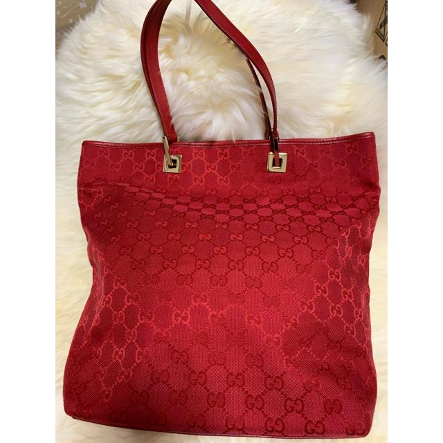 Gucci(グッチ)の美品GUCCI トートバック 気まぐれお値下げ レディースのバッグ(トートバッグ)の商品写真