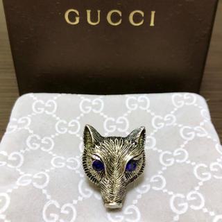 グッチ(Gucci)のgucci アニマルモチーフ シルバーリング(リング(指輪))