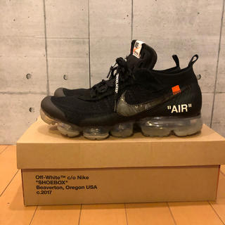 OFF-WHITE - 美品 nike offwhite the ten vapormax 29㎝