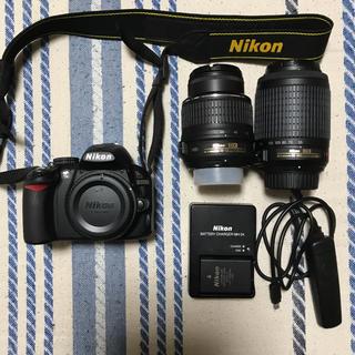 Nikon - NIKON  D3100  ダブルズームキット