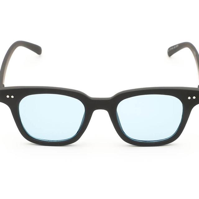 Supreme(シュプリーム)のサンカク サングラス type2  matt  赤ロゴ/ブルー メンズのファッション小物(サングラス/メガネ)の商品写真