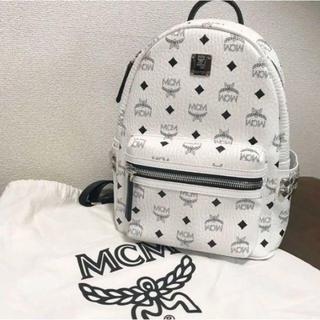 MCM - MCMのリュック Sサイズ white