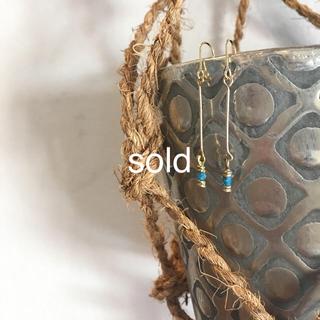 ジャーナルスタンダード(JOURNAL STANDARD)の真鍮と糸 ロングピアス 1120(ピアス)