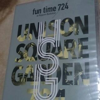 ユニゾンスクエアガーデン(UNISON SQUARE GARDEN)のunison square garden DVD fun time 724 (ミュージック)