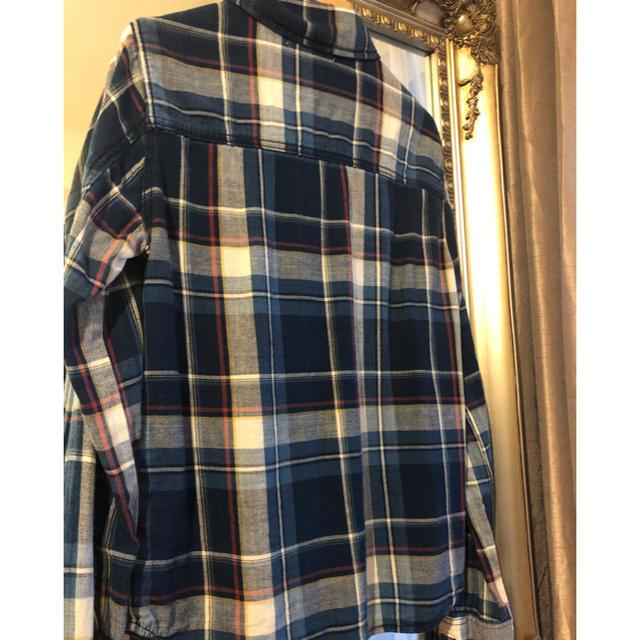 moussy(マウジー)のmoussy チェックシャツ ネルシャツ レディースのトップス(シャツ/ブラウス(長袖/七分))の商品写真