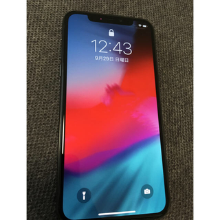 iPhone - SIMロック解除 iPhone X Space Gray 64 GB 本体のみ