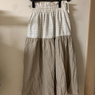 メルロー(merlot)のmerlot ロング丈 スカート(ロングスカート)