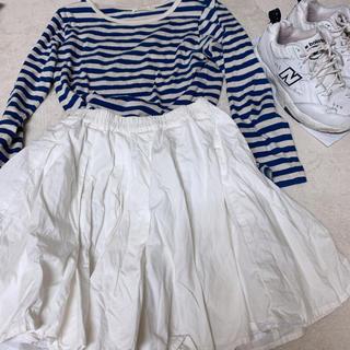 ホワイト ミニスカート