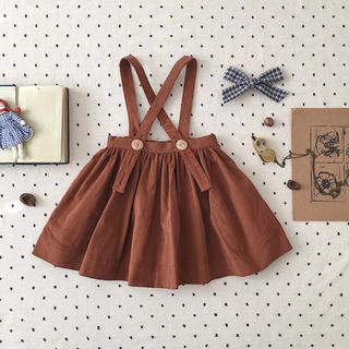 [2-3y]SOOR PLOOM 19aw スカート(ワンピース)