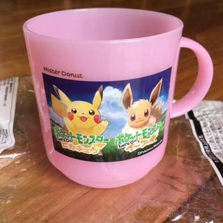 ポケモン(ポケモン)のミスド  ポケモン プラカップ ピンク(グラス/カップ)