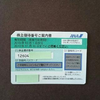 ANA(全日本空輸) - 全日空 株主優待 優待番号案内書