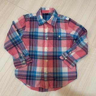 ベビーギャップ(babyGAP)のGAP チェックシャツ 110(ブラウス)