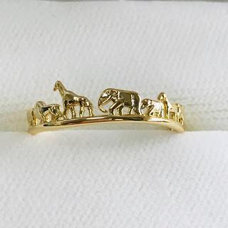 動物サークルリング レディース 指輪(リング(指輪))