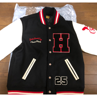 ジーディーシー(GDC)のHUMAN MADE × Girls Don't Cry Varsity JKT(スタジャン)