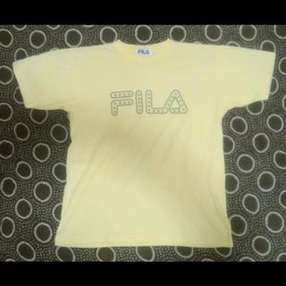 フィラ(FILA)のFILA★Tシャツ★イエロー★90'S★STREET★SKATE★HIPHOP(Tシャツ/カットソー(半袖/袖なし))