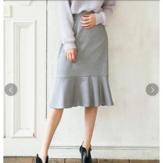 ノエラ(Noela)のNoela☆千鳥格子マーメイドスカート(ひざ丈スカート)