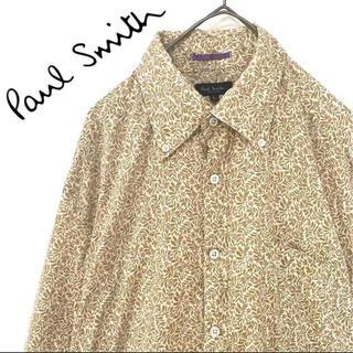 ポールスミス(Paul Smith)のpaul smith ポールスミス 花柄 シャツ メンズ Lサイズ(シャツ)