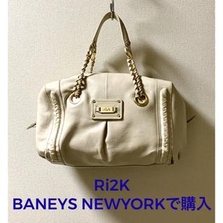 バーニーズニューヨーク(BARNEYS NEW YORK)のRi2K ハンドバッグ ライトグレー(バーニーズ ニューヨーク)(ハンドバッグ)