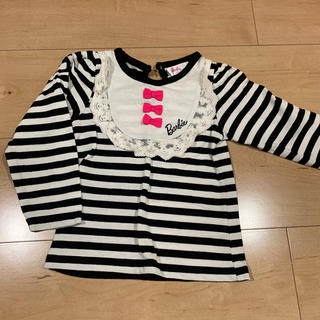 バービー(Barbie)のBarbie  95センチ 長袖Tシャツ (Tシャツ/カットソー)