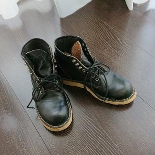 レッドウィング(REDWING)のREDWINGSレッド・ウィングブーツ黒(ブーツ)