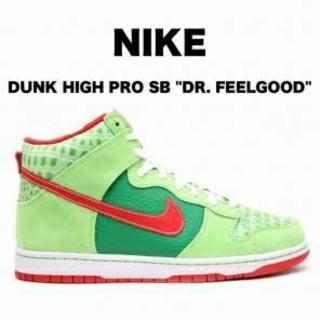 """ナイキ(NIKE)の激レア Nike SB Dunk High Pro Dr. Feel good""""(スニーカー)"""