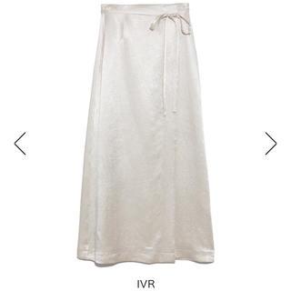 FRAY I.D - サテンスカート 定価¥18,920(税込)