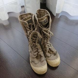パラディウム(PALLADIUM)のPALLADIUM編み上げブーツスニーカーパラディウム(ブーツ)