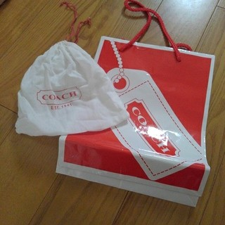 コーチ(COACH)のショップ袋 巾着 COACH(ショップ袋)