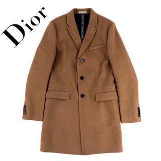 ディオール(Dior)の【未使用】DIOR HOMME ディオール アトリエ チェスターコート キャメル(チェスターコート)