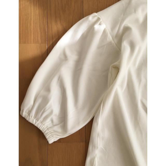 IENA SLOBE(イエナスローブ)の白 カットソー レディースのトップス(カットソー(長袖/七分))の商品写真