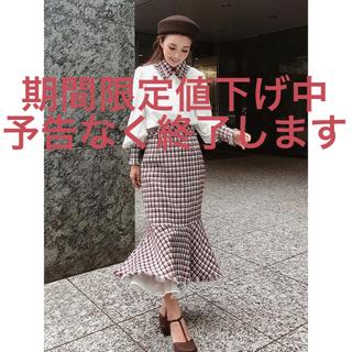eimy istoire - マーメイドデザインツイードスカート eimy エイミー