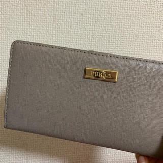 フルラ(Furla)のFURLA カードケース 長財布 グレー(長財布)