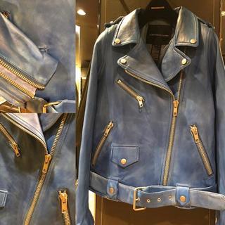 ダブルスタンダードクロージング(DOUBLE STANDARD CLOTHING)のDOUBLE STANDARD CLOTHING レザーライダースジャケット(ライダースジャケット)