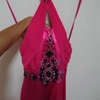 ロングドレス ピンク (ナイトドレス)