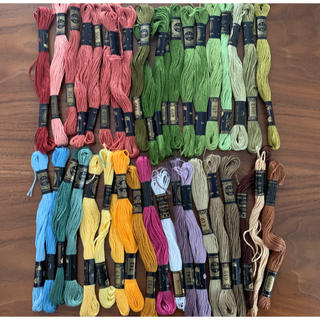 DMC 刺繍糸 セット
