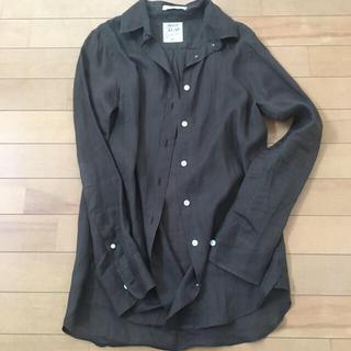 マディソンブルー MADISONBLUE ブラウンシャツ exclusive