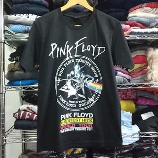 ピンクフロイド 両面プリント バンドTシャツ 黒色 XL(Tシャツ/カットソー(半袖/袖なし))