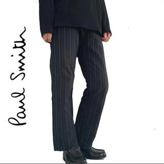 ポールスミス(Paul Smith)のpaul smith ポールスミス ストライプ チノパン メンズ 着画(スラックス)