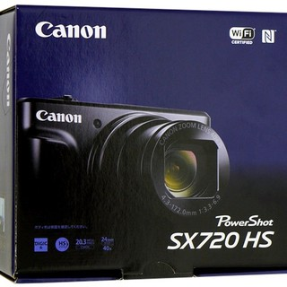 Canon - PowerShot SX720 HS  ブラック 箱無し