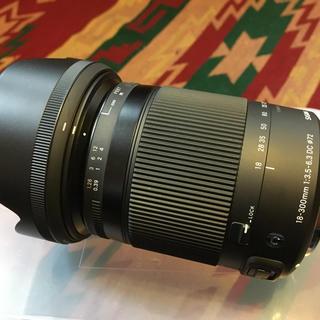 SIGMA - 美品SIGMA 18-300 F3.5-6.3 DCMACRO キャノン用レンズ