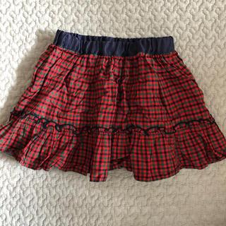 familiar - ファミリア  スカート リバーシブル 90センチ