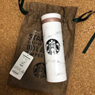 Starbucks Coffee - 【日本国内発送】韓国スタバ 大理石 タンブラー 水筒